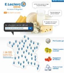 E. Leclerc, leader du marché français avec plus de 500 drive